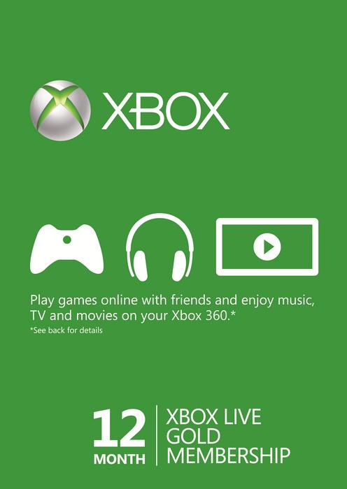 Xbox Live Gold Membership Banner